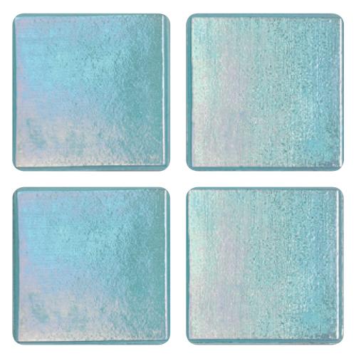 Mosaico in vetro Azzurro Turchese