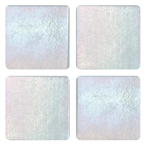 Mosaico in vetro Bianco Latte