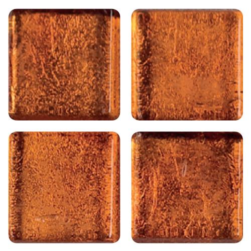 Mosaico in vetro Arancio Ocra