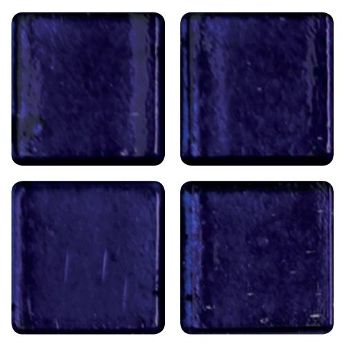 Mosaico in vetro Blu Ardesia