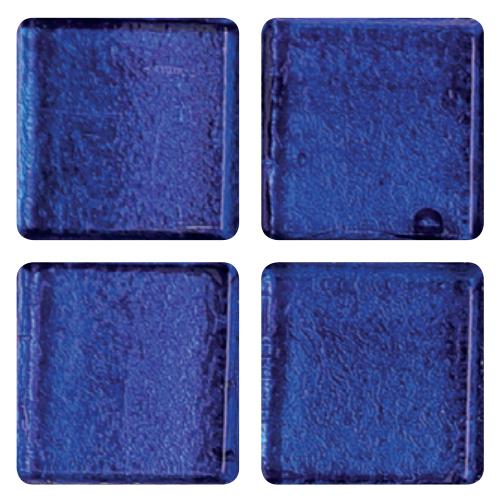 Mosaico in vetro Blu Azteco
