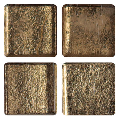 Mosaico in vetro Bronzeo