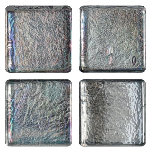 Mosaico in vetro Celeste Perlato
