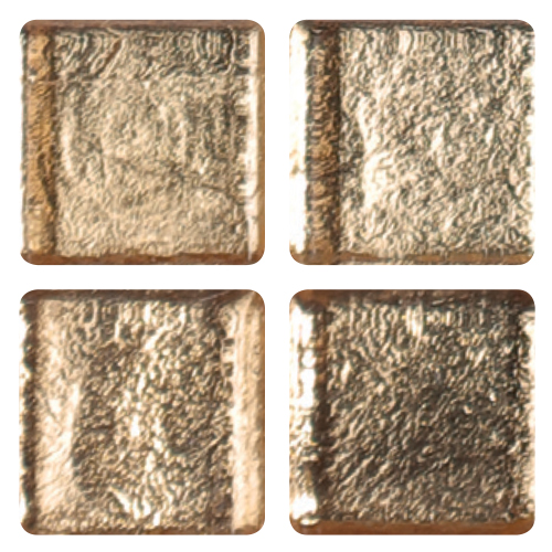 Mosaico in vetro Oro Vivo