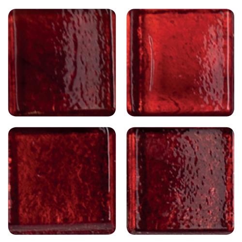 Mosaico in vetro Rosso Ciliegia