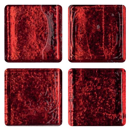 Mosaico in vetro Rosso Corallo
