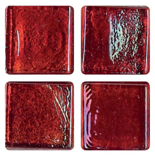 Mosaico in vetro Rosso Vinaccia