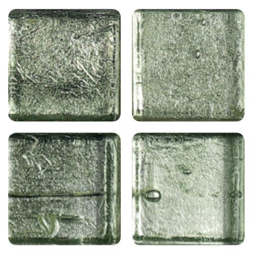 Mosaico in vetro Verde Pallido