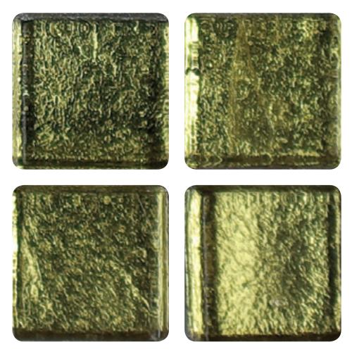 Mosaico in vetro Verde Pavone