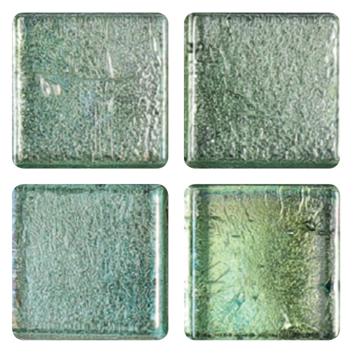 Mosaico in vetro Verde Smeraldo