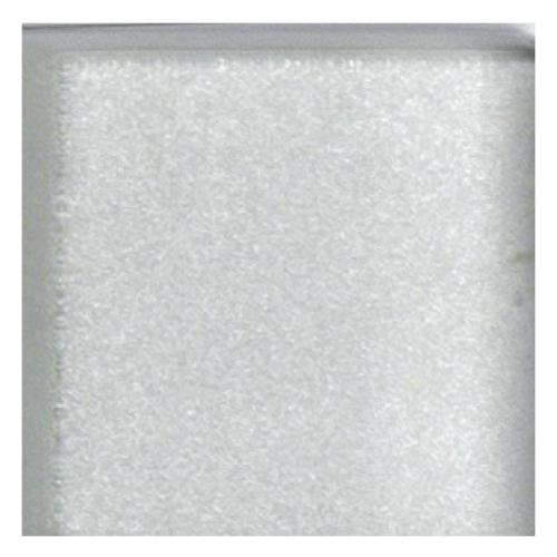 Mosaico in vetro Bianco Argento