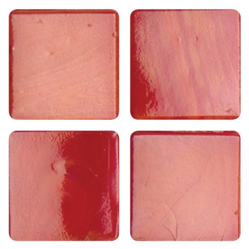 Mosaico in vetro Rosso Brillante