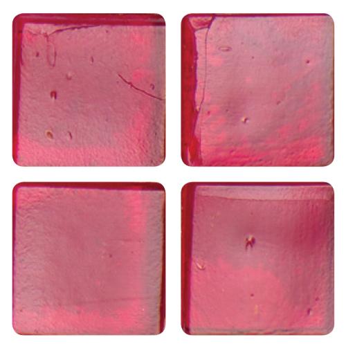 Mosaico in vetro Rosso Rubino