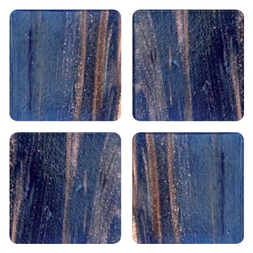Mosaico in vetro Nuovo Blu Cobalto