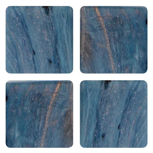 Mosaico in vetro Nuovo Blu Luce