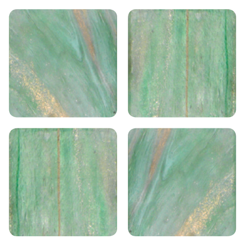 Mosaico in vetro Verde Biancastro