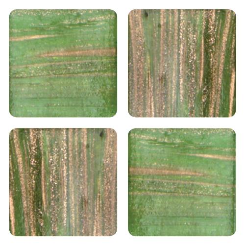 Mosaico in vetro Verde Oliva