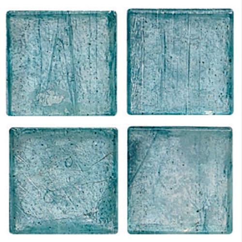Mosaico in vetro Azzurro Luce Lucido