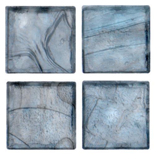 Mosaico in vetro Azzurro Plumbeo Lucido