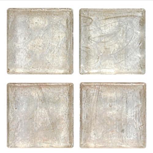 Mosaico in vetro Bianco Ghiaccio Lucido