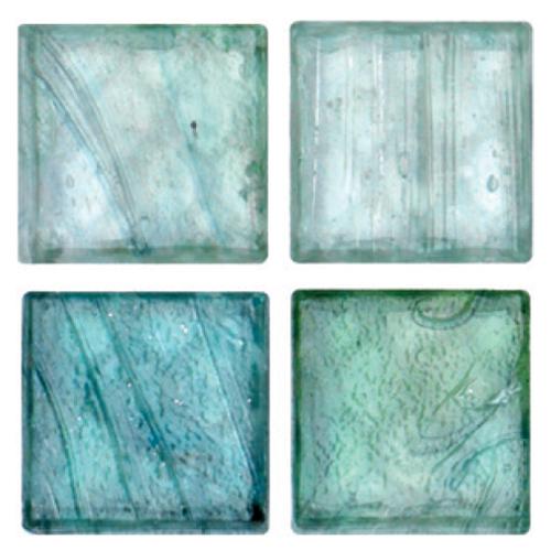 Mosaico in vetro Verde Menta Lucido