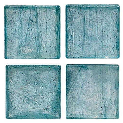 Mosaico in vetro Azzurro Luce Opaco