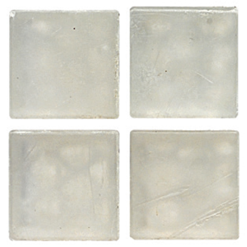 Mosaico in vetro Bianco Ghiaccio Opaco