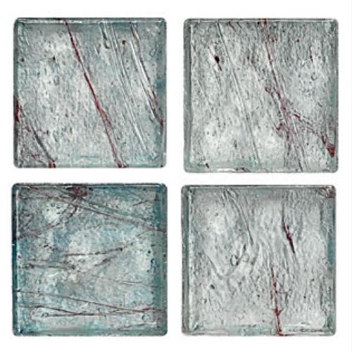 Mosaico in vetro Celeste Polvere Opaco