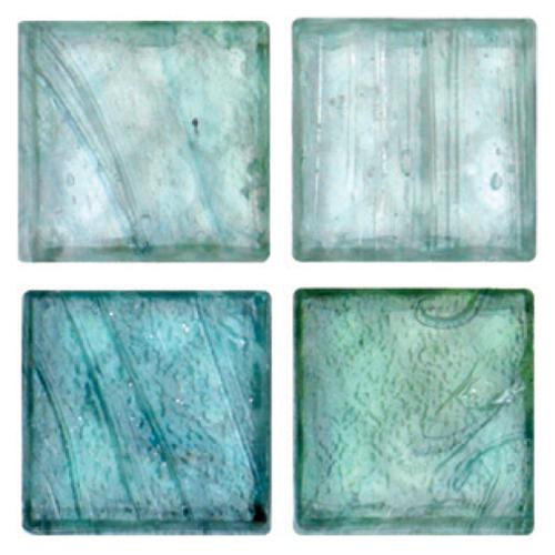 Mosaico in vetro Verde Menta Opaco