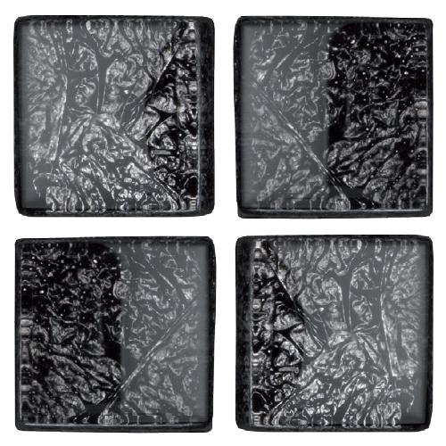Mosaico in vetro Antracite