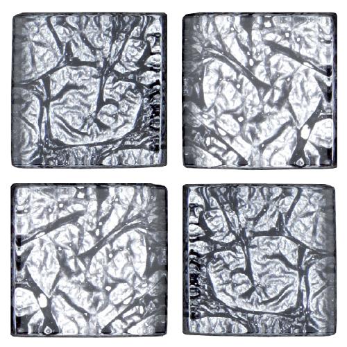 Mosaico in vetro Argento Antico