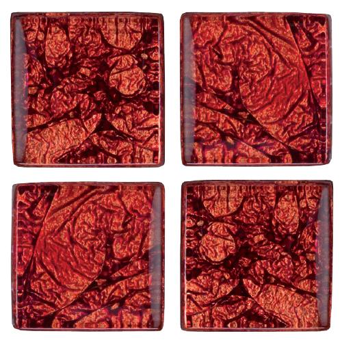 Mosaico in vetro Corallo