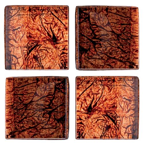 Mosaico in vetro Rubino