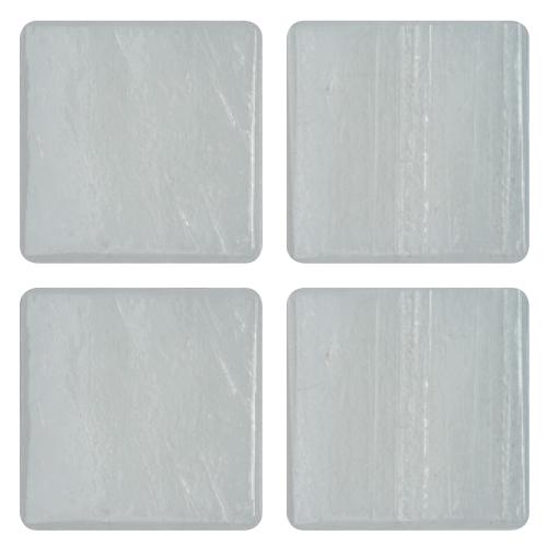 Mosaico in vetro Bianco Egeo