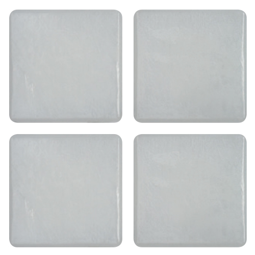Mosaico in vetro Bianco Puro