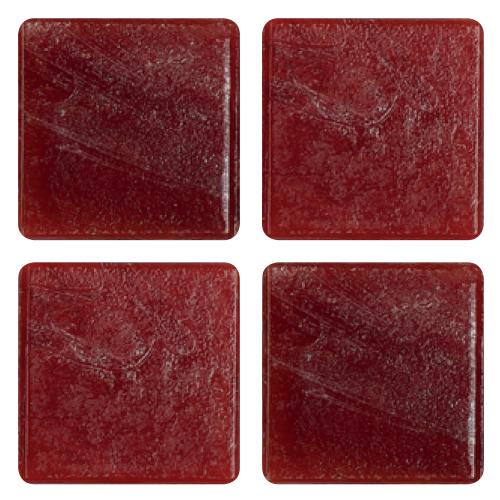 Mosaico in vetro Rosso Pachino