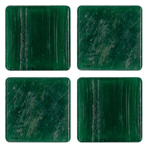 Mosaico in vetro Verde Foresta