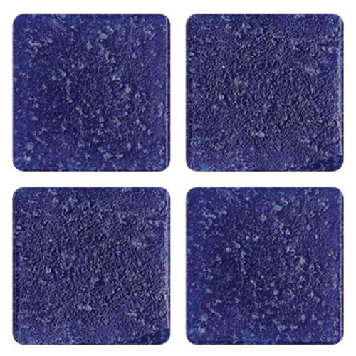 Mosaico in vetro Blu Elettrico