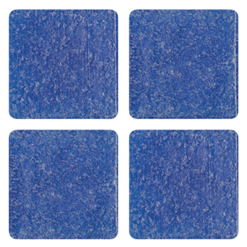 Mosaico in vetro Blu Reale