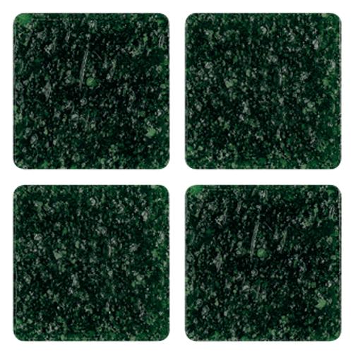 Mosaico in vetro Verde Bottiglia