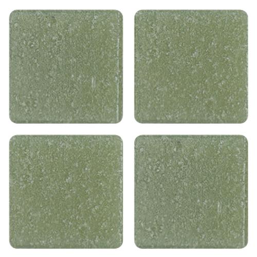 Mosaico in vetro Verde Piasello