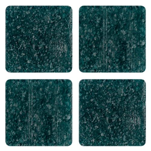 Mosaico in vetro Verde Scuro