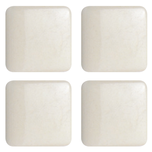 Mosaico in vetro Bianco Perla