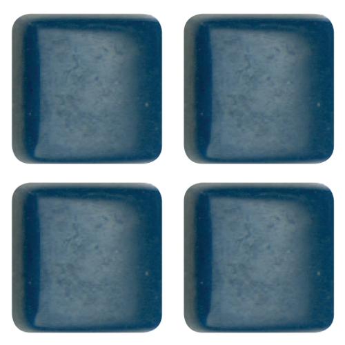 Mosaico in vetro Blu Verdastro