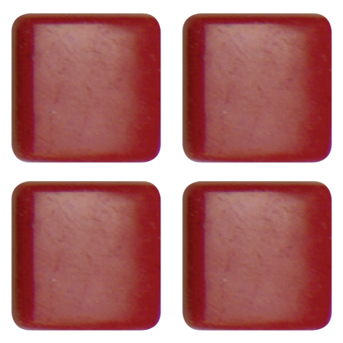 Mosaico in vetro Rosso Sangue